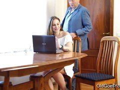 Old Goes Young - Teen Carol seduced by a man