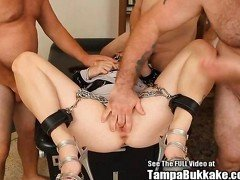 Anal Cutie Fuck Slut Gang Bang in Chains