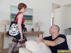 Faye Lynne curious to taste Chads large cock