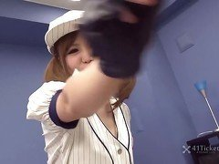 Baseball Babe Mao Ayase Fuck (Uncensored JAV)
