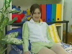German teen Melanie masturbates long version