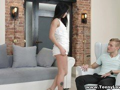 Teeny Lovers - Teeny fucking with a new lover