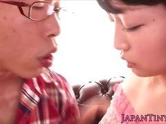 Tiny japanese sluts cunt licked
