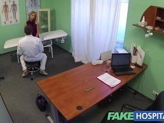 FakeHospital Cute blonde teen prescribed internal creampie
