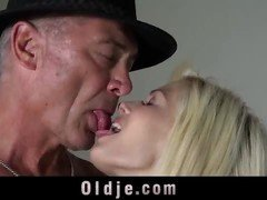 Beautiful Teen Caught Fucking Old Man On 4th July