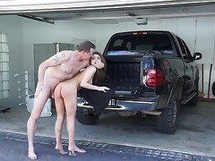 Skillful teen slut fucked by a horny as hell driver
